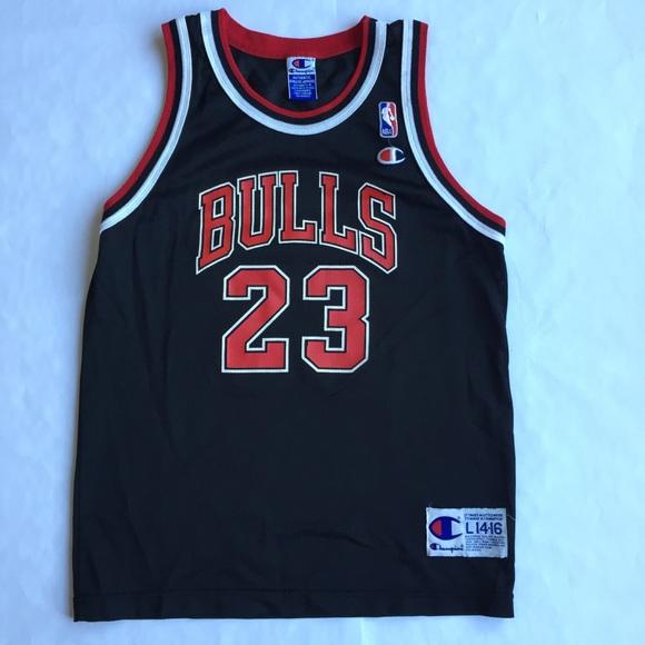 988a94071262 Champion Other - Champion Jordan Bulls Jersey Boy s Large